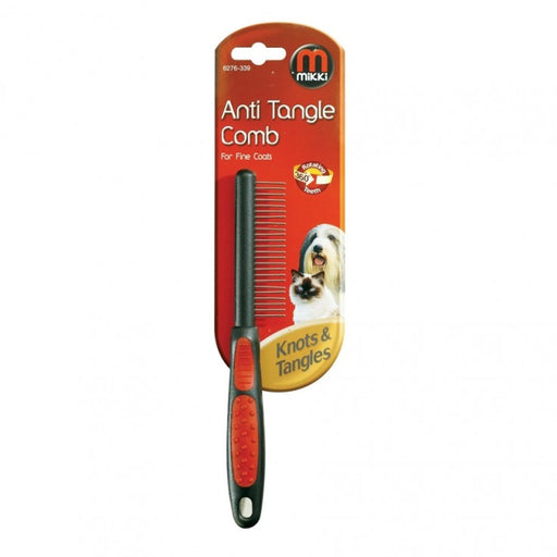 Anti-Tangle Comb Fine Coat