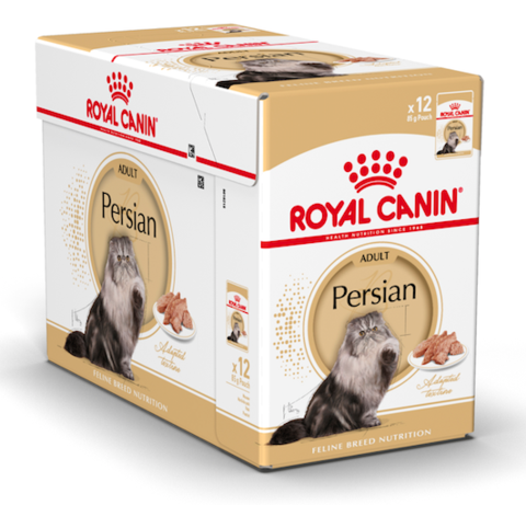 Royal Canin Wet Food - Fbn Persian (12 X 85G Pouches)