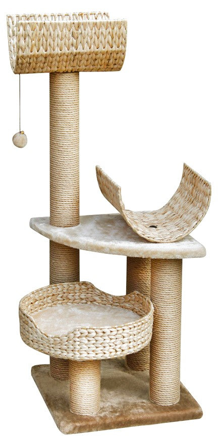 PALUCCO CAT PLAY TOWER - BEIGE