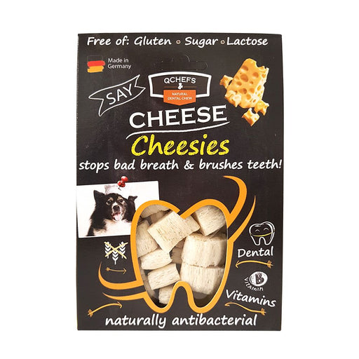 QChefs Natural Dental Fitness Cheesies 65g
