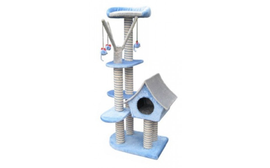 SAGRADA CAT SCRATCHING POLE - BLUE