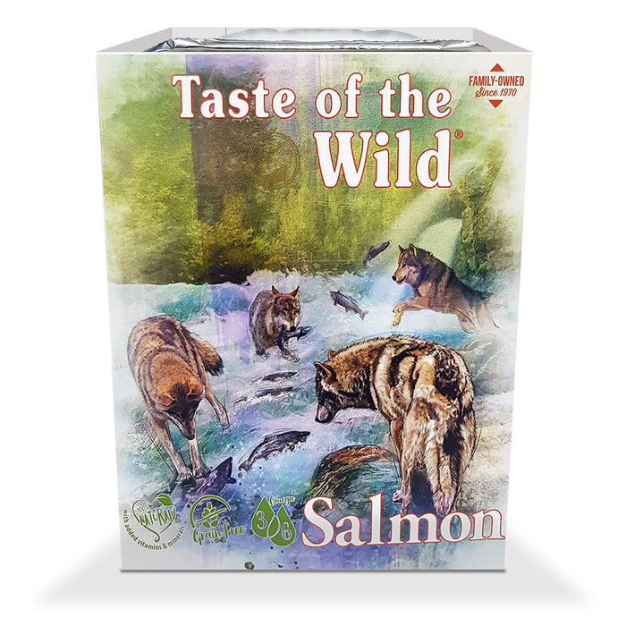 Taste of the Wild Wet Food Salmon, Fruit & Veg Tray