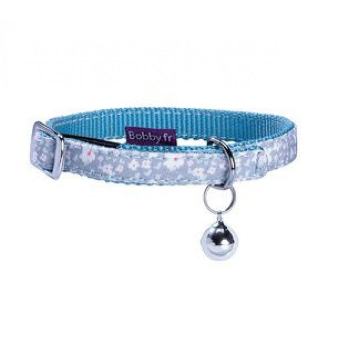 Bobby Spring Cat Collar - Lagoon