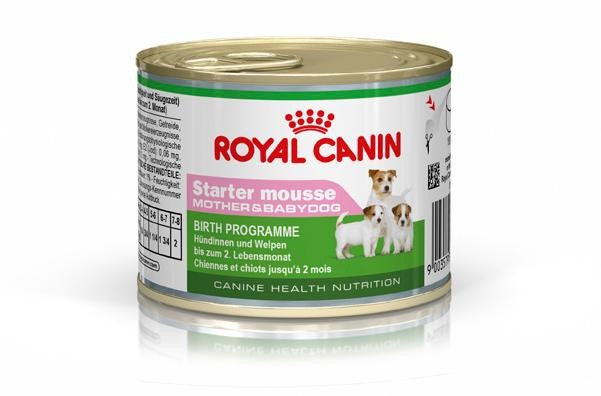 Royal Canin Canine Health Nutrition Starter Mousse (Cans)