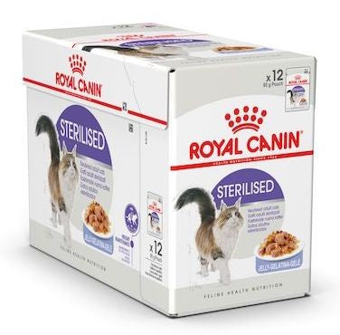 Royal Canin Wet Food - Sterilised (85G Pouches)