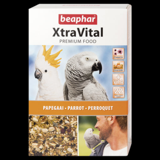 XTRAVITAL PARROT FEED 1 KG (NEW FORMULA)