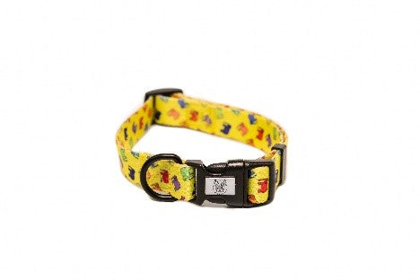 Pickles Yellow Elephants Collar