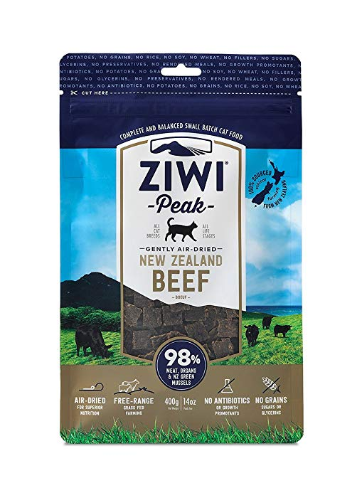 Ziwi Peak Air Dried Cat Food Beef