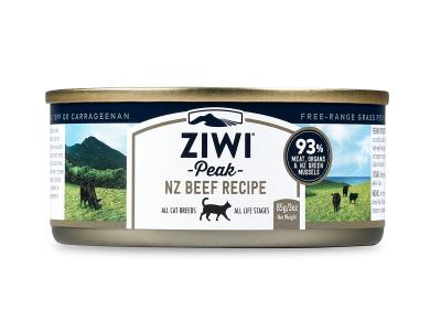 Ziwi Peak Canned Cat Food Beef