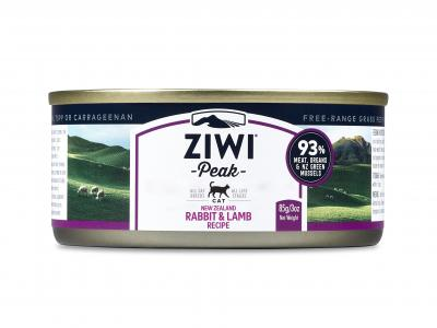 Ziwi Peak Canned Cat Food Rabbit & Lamb