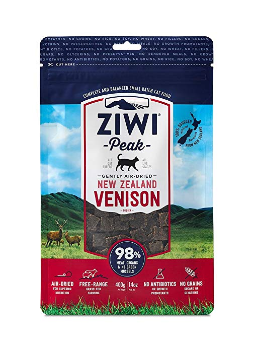 Ziwi Peak Air Dried Cat Food Venison