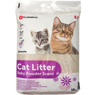 Flamingo Cat Litter Powder