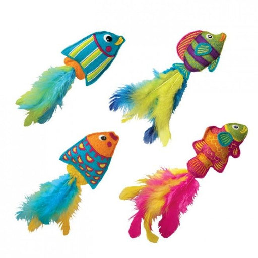 Kong Cat Toy Tropics Fish