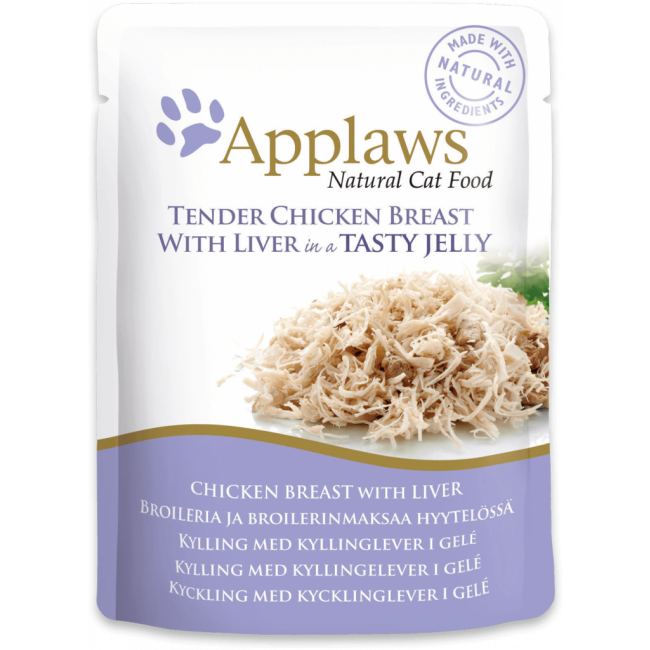 Applaws Cat Chicken With Liver Jelly Po-