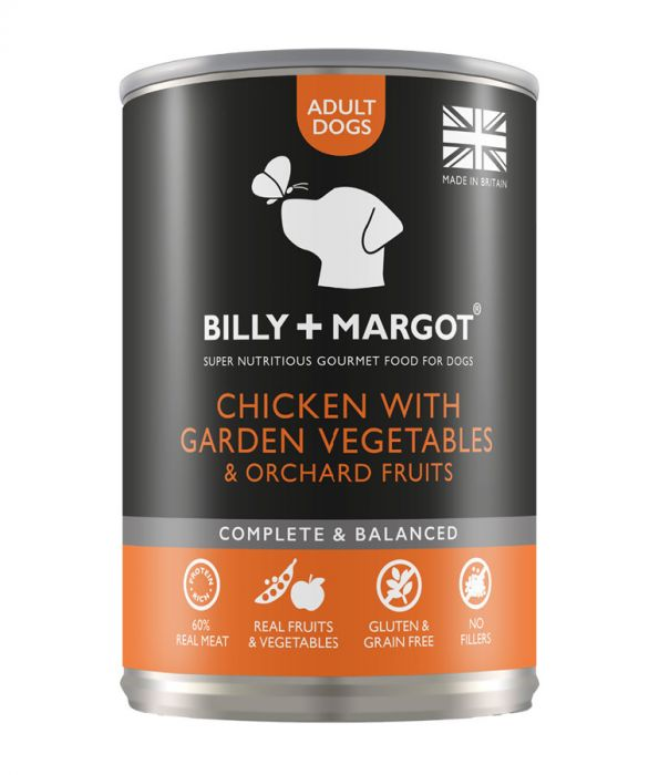 Billy & Margot Chicken with Vegetable Canned Adult Dog Food