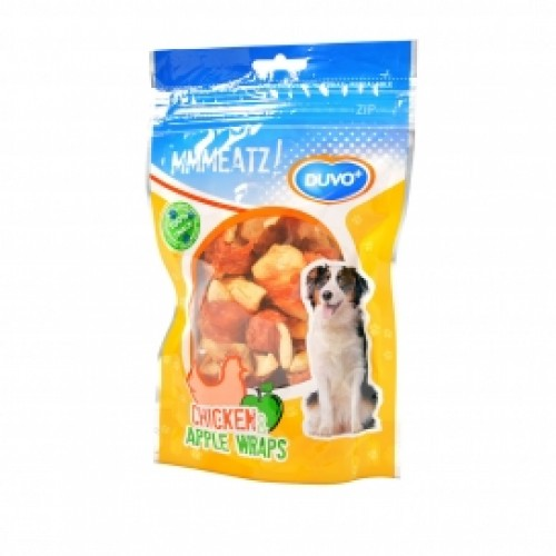 Duvo Meats Chicken & Apple Wraps 100g
