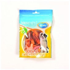 Duvo Meats Chicken & Sweet Potato Wraps 100g