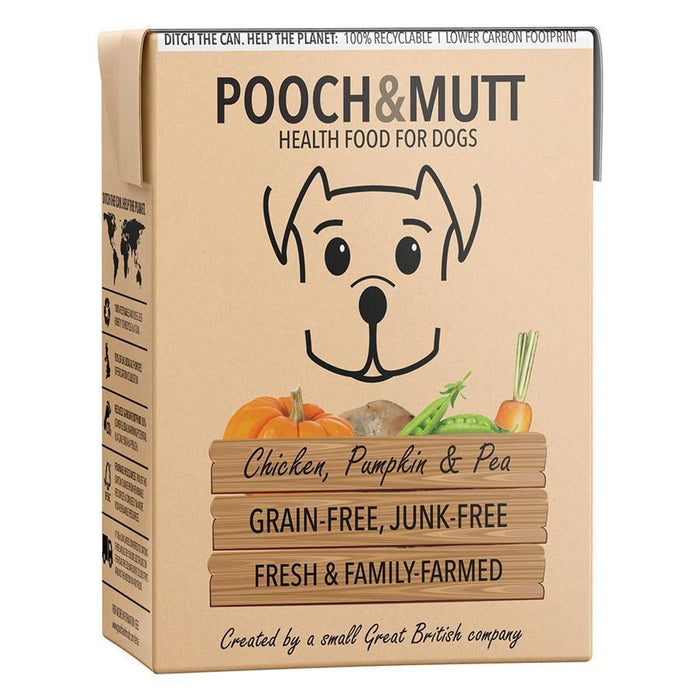 Pooch & Mutt Chicken, Pumpkin & Pea Dog Wet Food