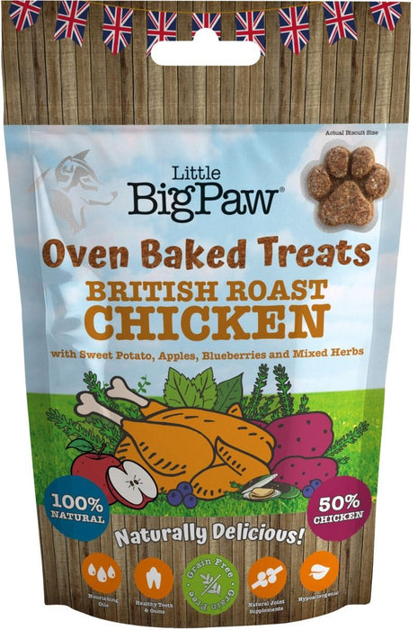 Little Big Paw Oven Baked Chicken Treats For Dog