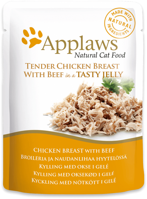 Applaws Cat Chicken With Beef Jelly Pou-