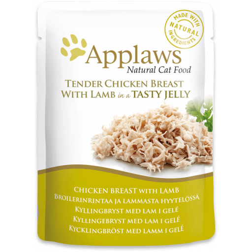 Applaws Cat Chicken With Lamb Jelly Pou-