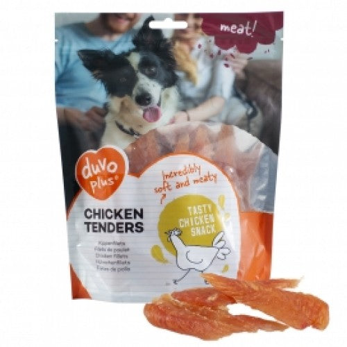 Duvo Dog Snack Chicken Tenders - 400g