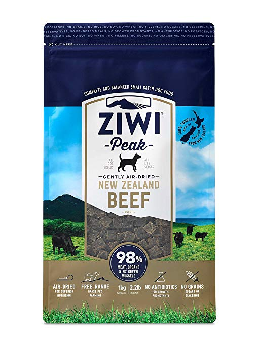 Ziwi Peak Air Dried Dog Food Beef