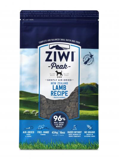 Ziwi Peak Air Dried Dog Food Lamb