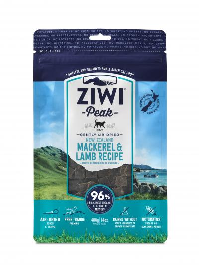 Ziwi Peak Air Dried Cat Food Mackerel & Lamb