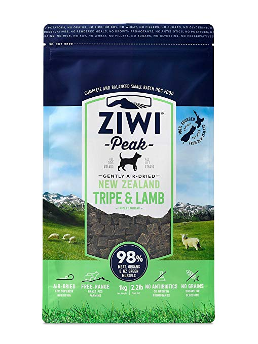 Ziwi Peak Air Dried Dog Food Tripe & Lamb
