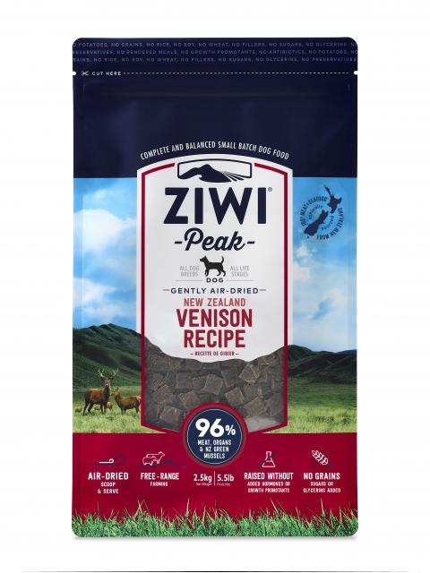 Ziwi Peak Air Dried Dog Food Venison