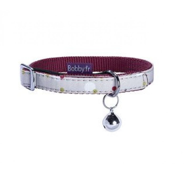 Bobby Dots Cat Collar - Beige