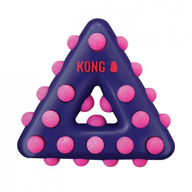 Kong Dog Toy Dotz Triangle (L)