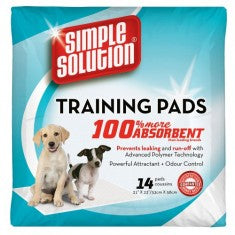 Simple Solutions Training Pads (Premium) - 55 X 56 Cms - 14 Pads