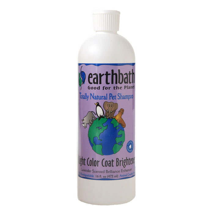 EarthBath Coat Brightener Shampoo With Lavender Scent 16oz