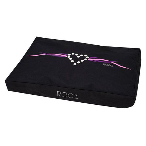 Rogz Flat Pod Bed - Purple Chrome