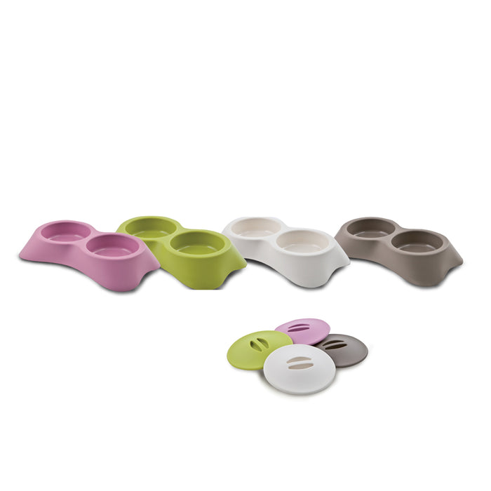 Food & Water Bowl Nuvola With Cap