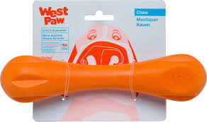 West Paw Hurley Small 6'' (Tangerine)