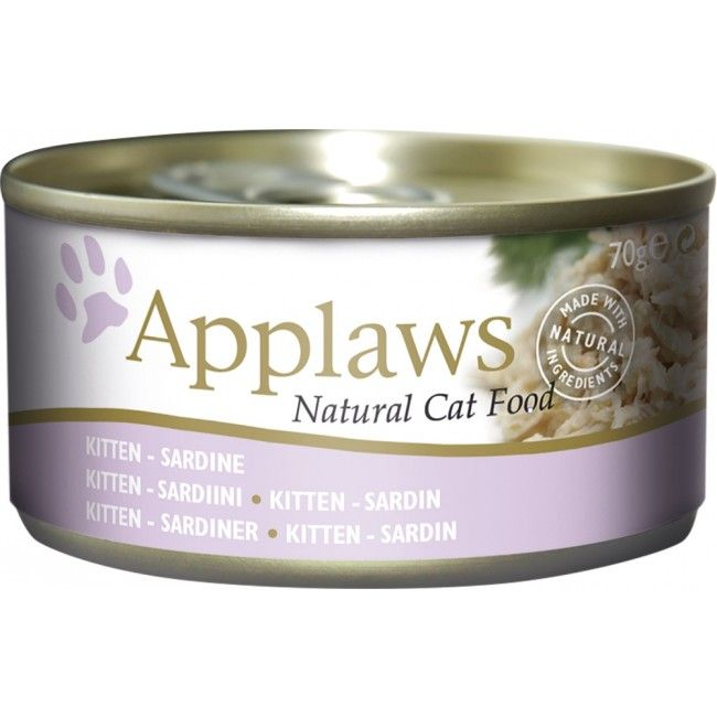 Applaws Kitten Sardine Tin-