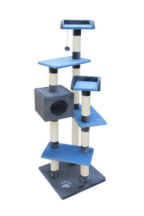 MATEUS CAT POLE - BLUE-BEIGE
