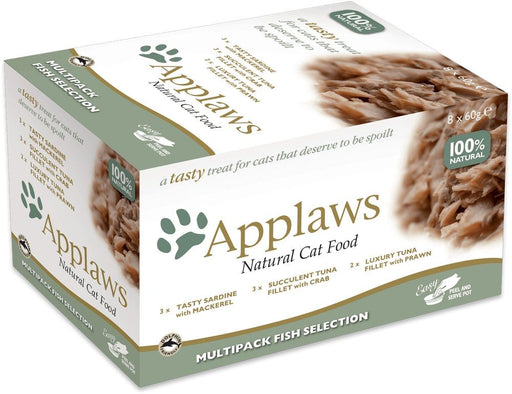 Applaws Cat Mutipack Fish Selection 8 X 60g Pots