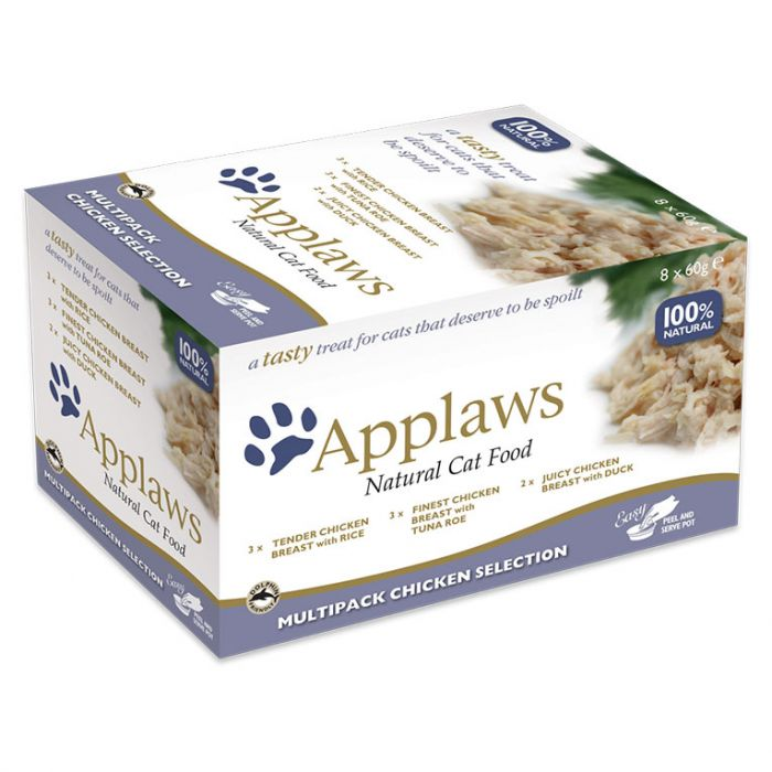 Applaws Cat Multipack Chicken Select 8 x 60g Pot