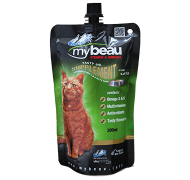 MyBeau Vitamin & Mineral Supplement for Cats