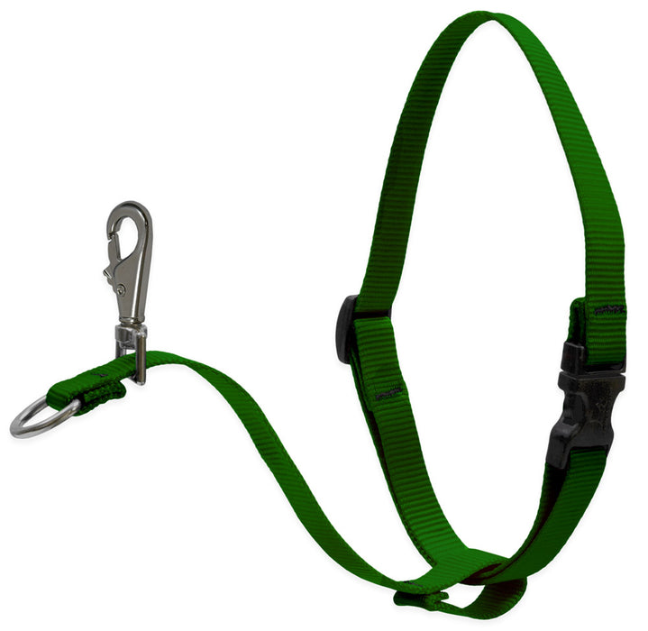 1'' No Pull Harness Green 26-38