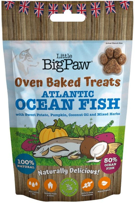 Little Big Paw Oven Baked Ocean Fish Treat For Dog