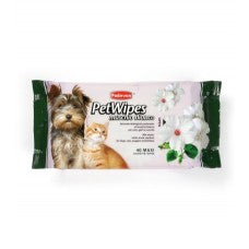 Padovan Pet Wipes Muschio Bianco 40pcs