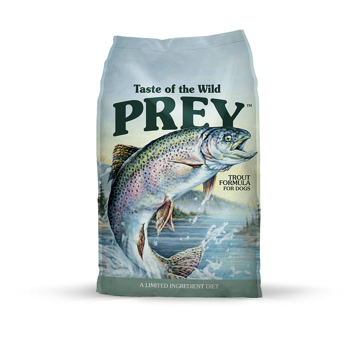Taste of the Wild Prey Trout Dog