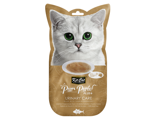 Kit-Cat Puree Plus Urinary Care - Tuna & Cranberry