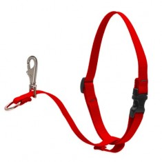 1'' No Pull Harness Red 26-38