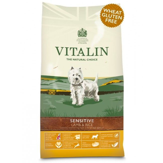 Vitalin Dog Sensitive Lamb & Rice